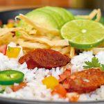 Arroz San Pedro a lo mexicano con chorizo y jalapeño