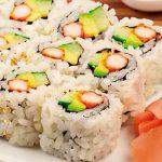 Sushi con arroz San Pedro